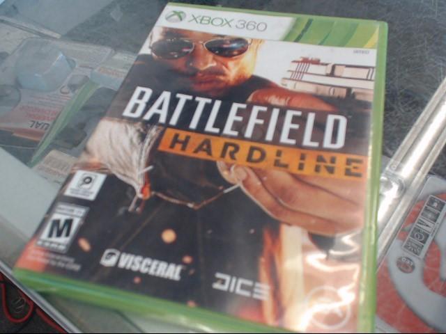 BATTLEFIELD HARDLINE XBOX 360 GAME