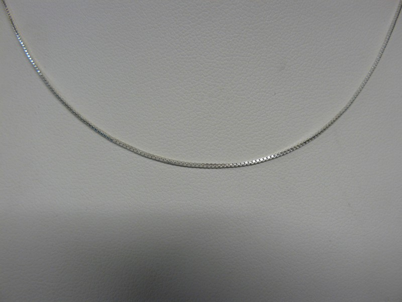 "20"" Silver Serpentine Chain 925 Silver 2dwt"