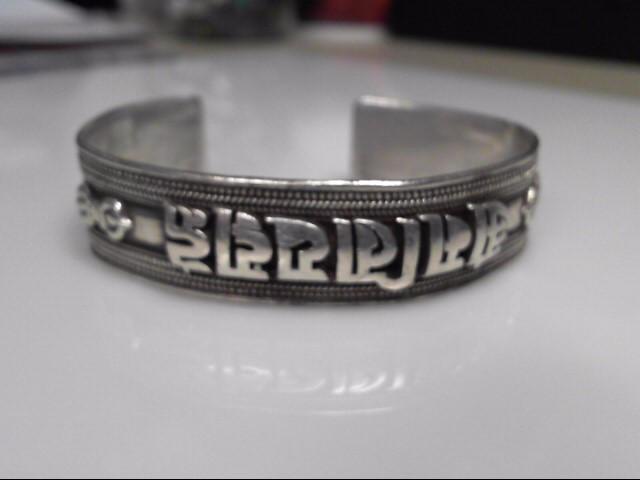 Sterling Silver Open Cuff Bracelet 33.5g