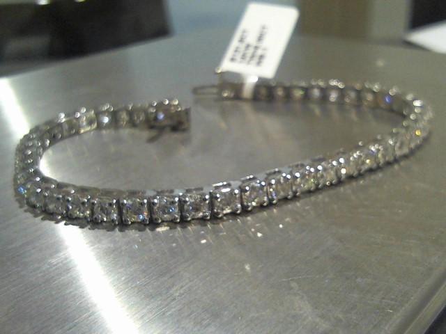 Gold Bracelet 14K White Gold 13.9g