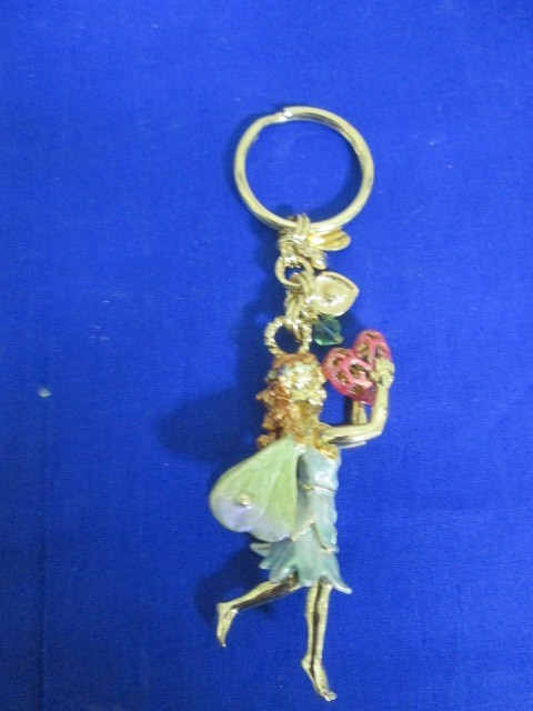 NWOT KIRKS FOLLY FAIRY KEY CHAIN W/ INTRICATE CHARMS