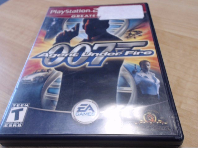 007 AGENT UNDER FIRE SONY PS2 PLAYSTATION 2 GAME