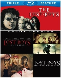 BLU-RAY MOVIE Blu-Ray THE LOST BOYS TRIPLE FEATURE UNCUT VERSION
