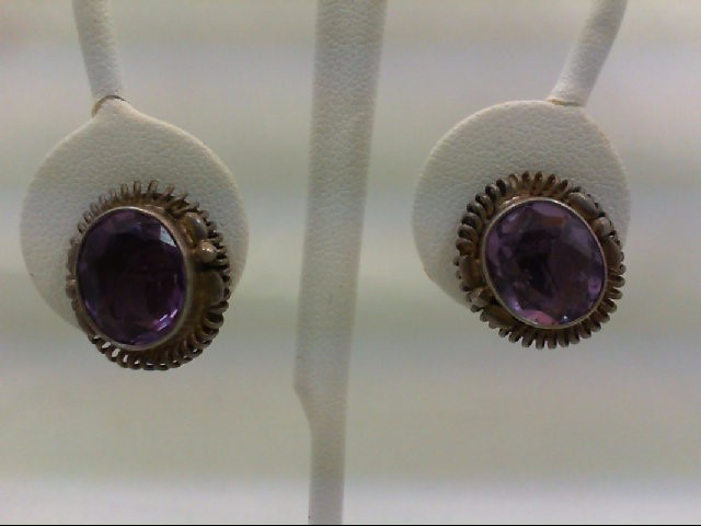 Silver Earrings 925 Silver 9.6g