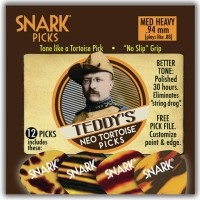 SNARK TEDDY'S .94MM 12PK GUITAR PICKS