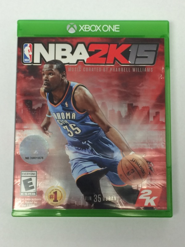 NBA 2K15 - (Microsoft Xbox ONE, 2014)