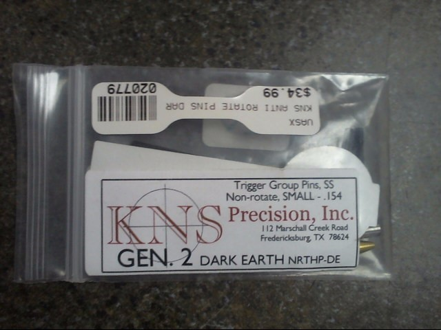 KNS PRECISION Accessories ANTI ROTATE PINS