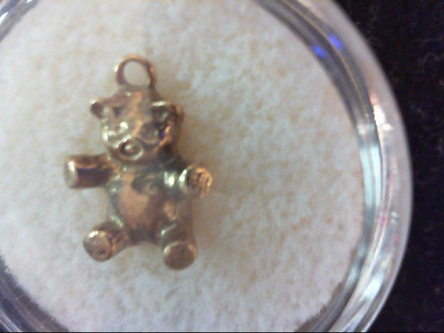 Gold Charm 10K Yellow Gold 2.3g