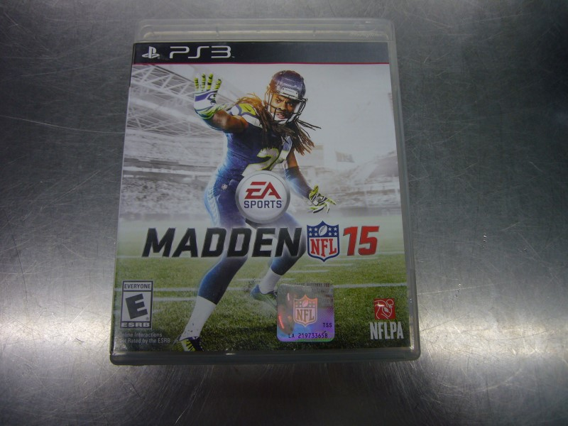 SONY Sony PlayStation 3 Game NFL MADDEN 15 PS3