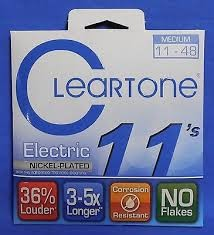 CLEARTONE Musical Instruments Part/Accessory 11 ELECTRIC GUITAR STRINGS
