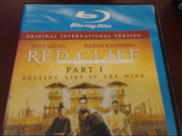 RED CLIFF PART 1 BLU-RAY