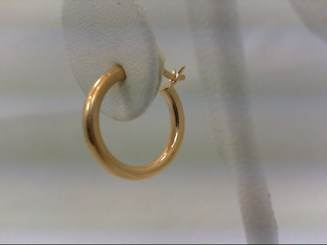 Gold Earrings 14K Yellow Gold 1.5g