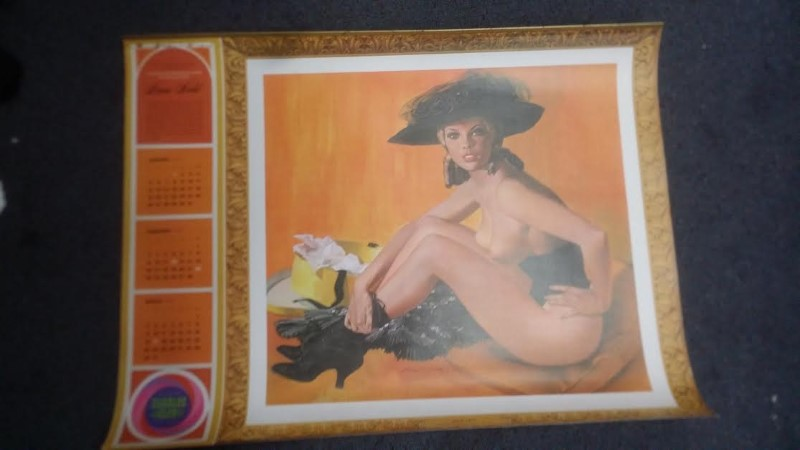 1969 HAROLDS CLUB NUDE CALENDAR