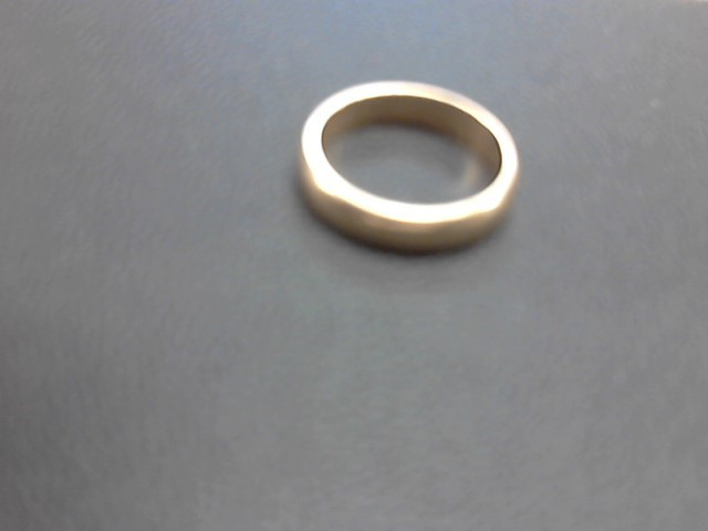 Lady's Gold Wedding Band 14K Yellow Gold 3.5g Size:6.5