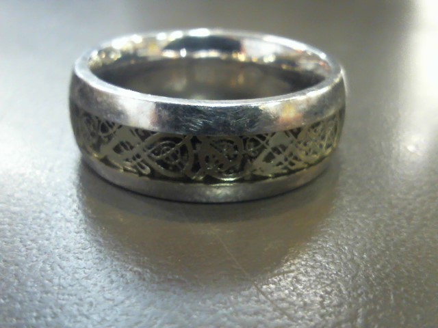 Gent's Ring Silver Stainless 6.6g