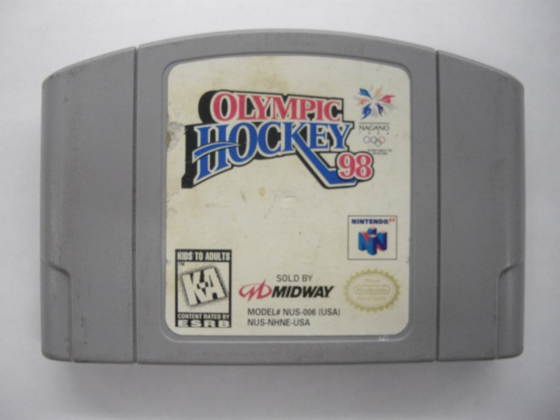 NINTENDO 64 Game OLYMPIC HOCKEY 98 *CARTRIDGE ONLY*