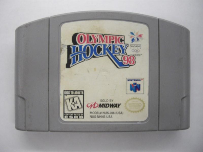 NINTENDO 64 Game OLYMPIC HOCKEY 98 *CARTRIDGE ONLY*