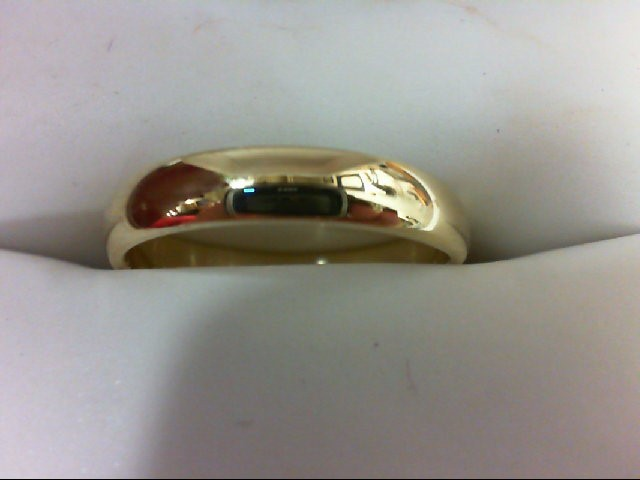 Lady's Gold Ring 14K Yellow Gold 2.2g Size:5.5