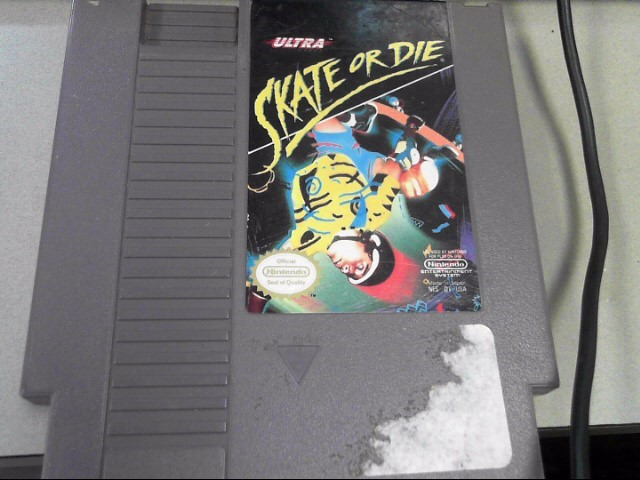NINTENDO Nintendo NES SKATE OR DIE
