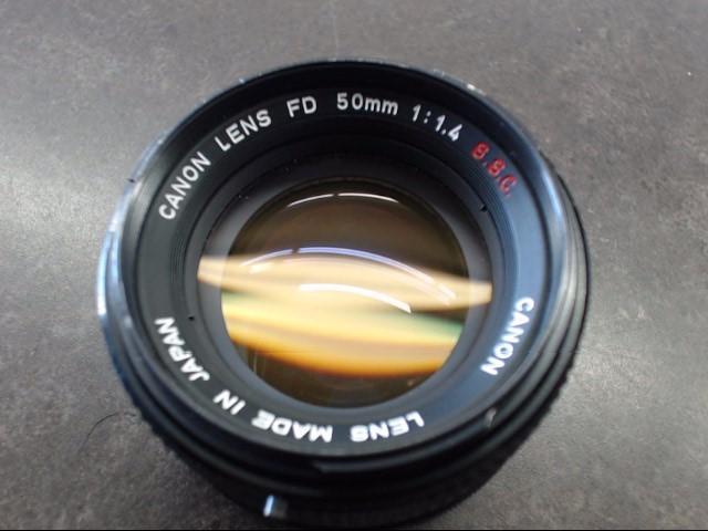 CANON Lens LENS FD 50MM 1:1.4 S.S.C.