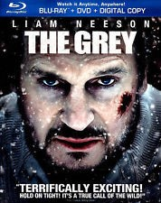 THE GREY, ACTION BLU-RAY DVD STARRING LIAM NEESON, GOOD CONDITION.