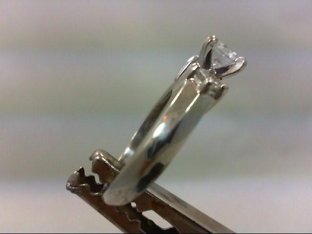 Lady's Platinum-Diamond Ring Guard 3 Diamonds .74 Carat T.W. 950 Platinum 5.99g