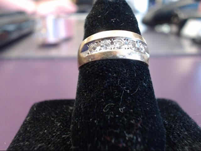 Lady's Diamond Fashion Ring 5 Diamonds .50 Carat T.W. 14K Yellow Gold 5.4g