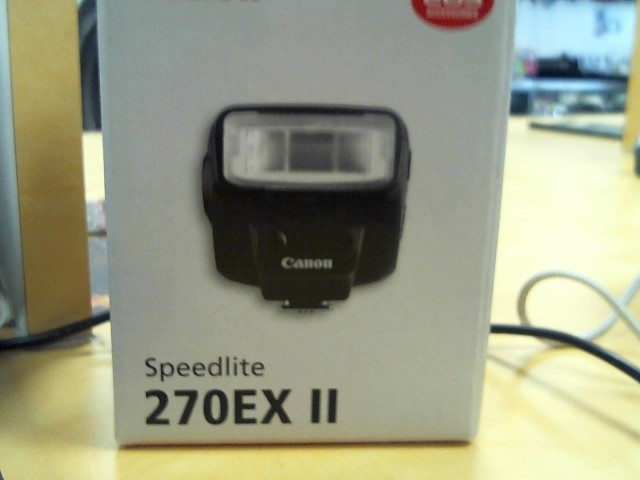 CANON Flash SPEEDLITE 270EX