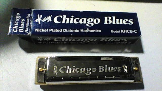 CHICAGO BLUES Harmonica KHCB-C