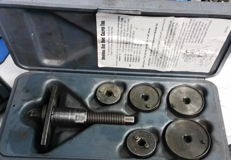 MATCO TOOLS DB25 REAR WHEEL DISC BRAKE PISTON TOOL (900150.86)