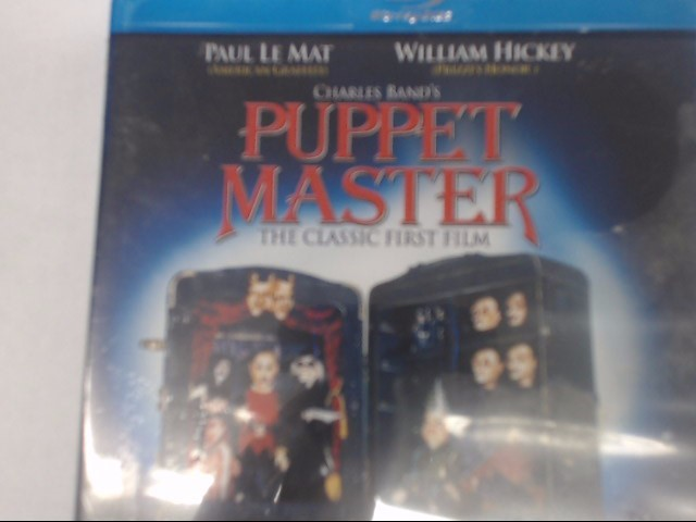 PUPPET MASTER - BLU-RAY MOVIE