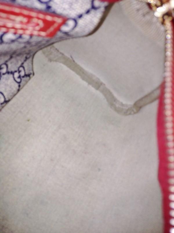 GUCCI 204046 SMALL BOSTON MONOGRAM HEART/ROSES TATTOO
