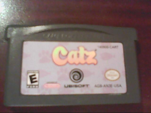NINTENDO GBA Game CATZ GBA