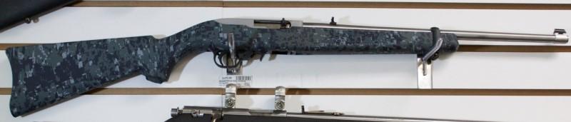 Ruger 10/22 Carbine Navy Camo Stainless Barrel .22LR