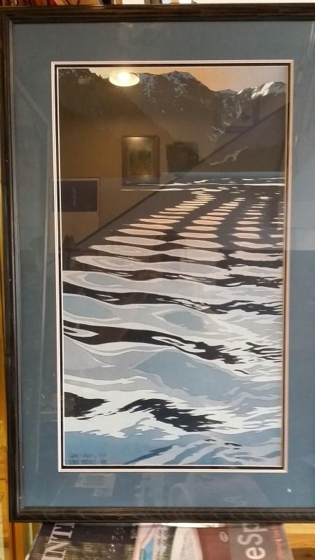 BYRON BIRDSALL Print WAKE
