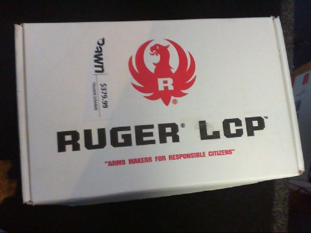 RUGER Pistol LCP 380ACP FS