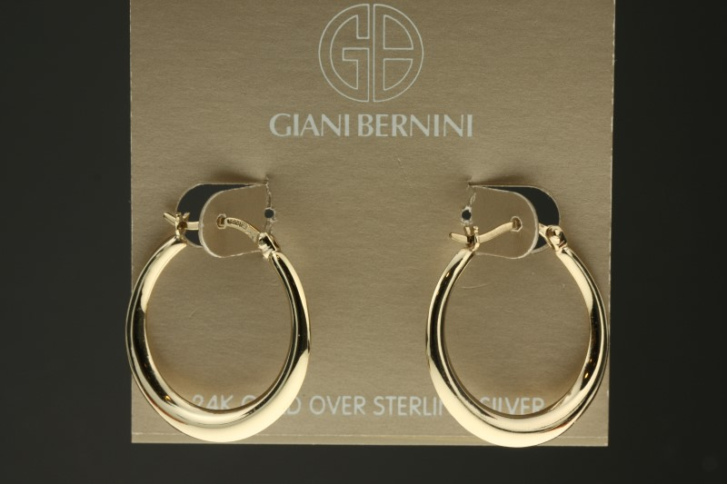 Silver Earrings 925 Silver 3.2g Bernini