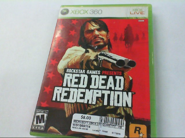 RED DEAD REDEMPTION - XBOX 360 - GAMES