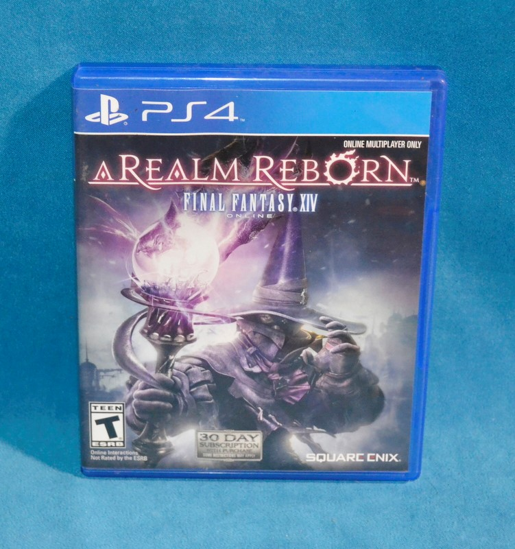 SONY PS4 GAME REALM REBORN FINAL FANTASY XIV