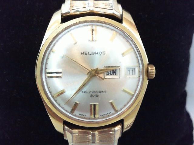 HELBROS Gent's Wristwatch MANS WATCH