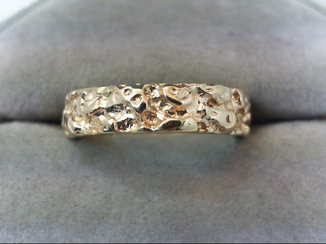 Gent's Gold Ring 14K Yellow Gold 5.3g Size:7.5
