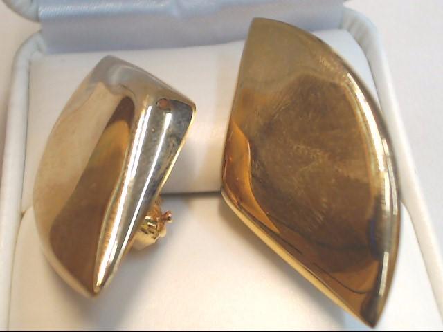 Gold Earrings 14K Yellow Gold 8.1g