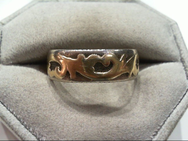Gent's Silver Ring 925 Silver 7g Size:10.5