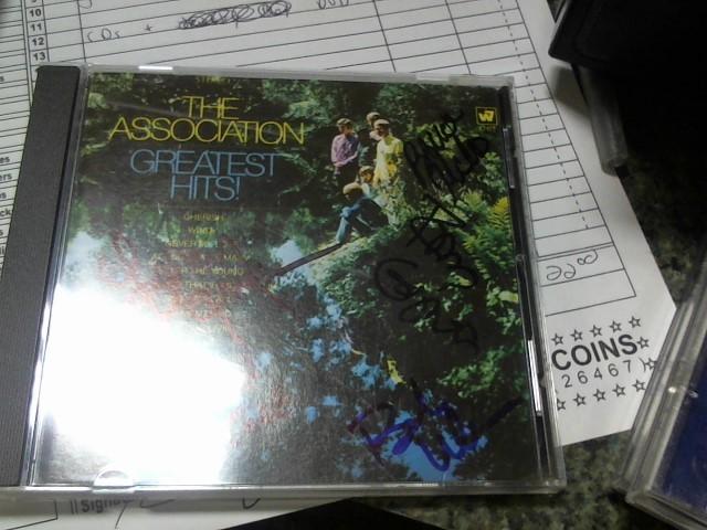 THE ASSOCIATION AUTOGRAPHED CD