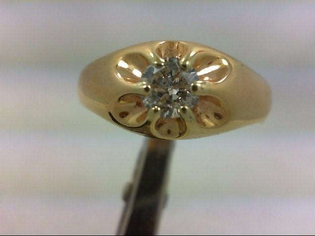Gent's Diamond Fashion Ring .60 CT. 14K Yellow Gold 9.38g