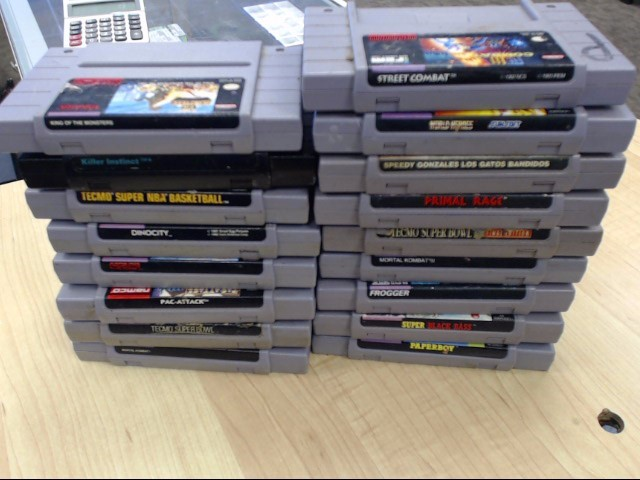 NINTENDO SNES STREET COMBAT *CARTRIDGE ONLY*