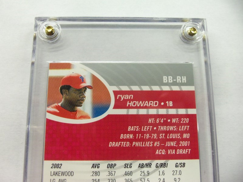 2003 TOPPS RYAN HOWARD BOWMANS BEST