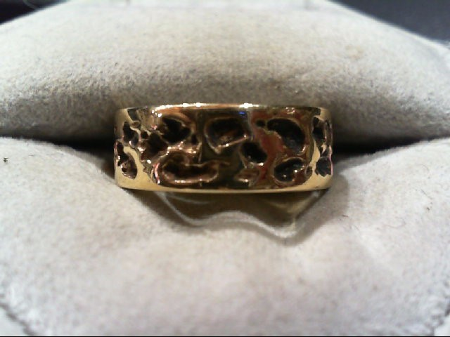 Lady's Gold Wedding Band 14K Yellow Gold 5.8g Size:6