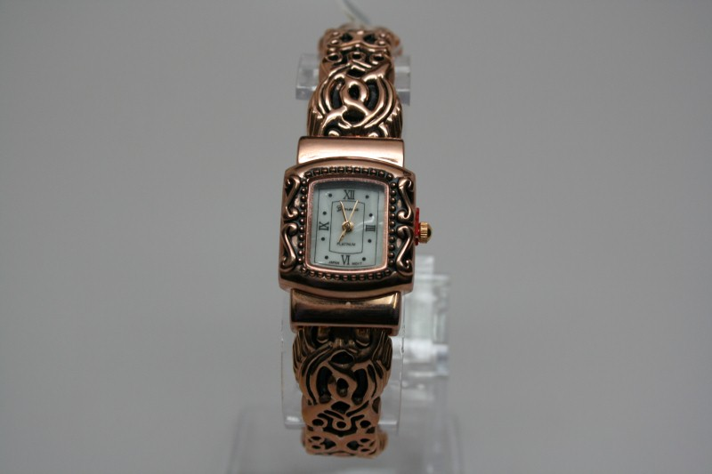 GENEVA Lady's Wristwatch PLATINUM 5500