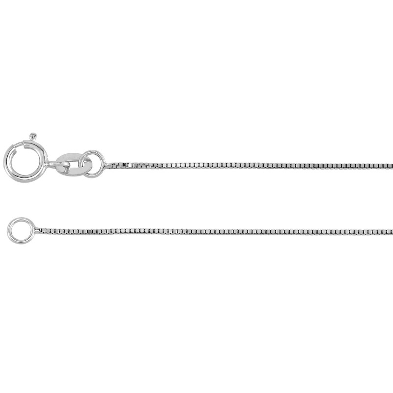 Silver Box Chain 925 Silver 1g